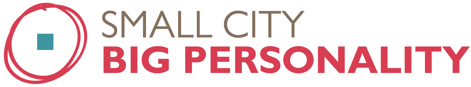 Small City Big Personality Logo