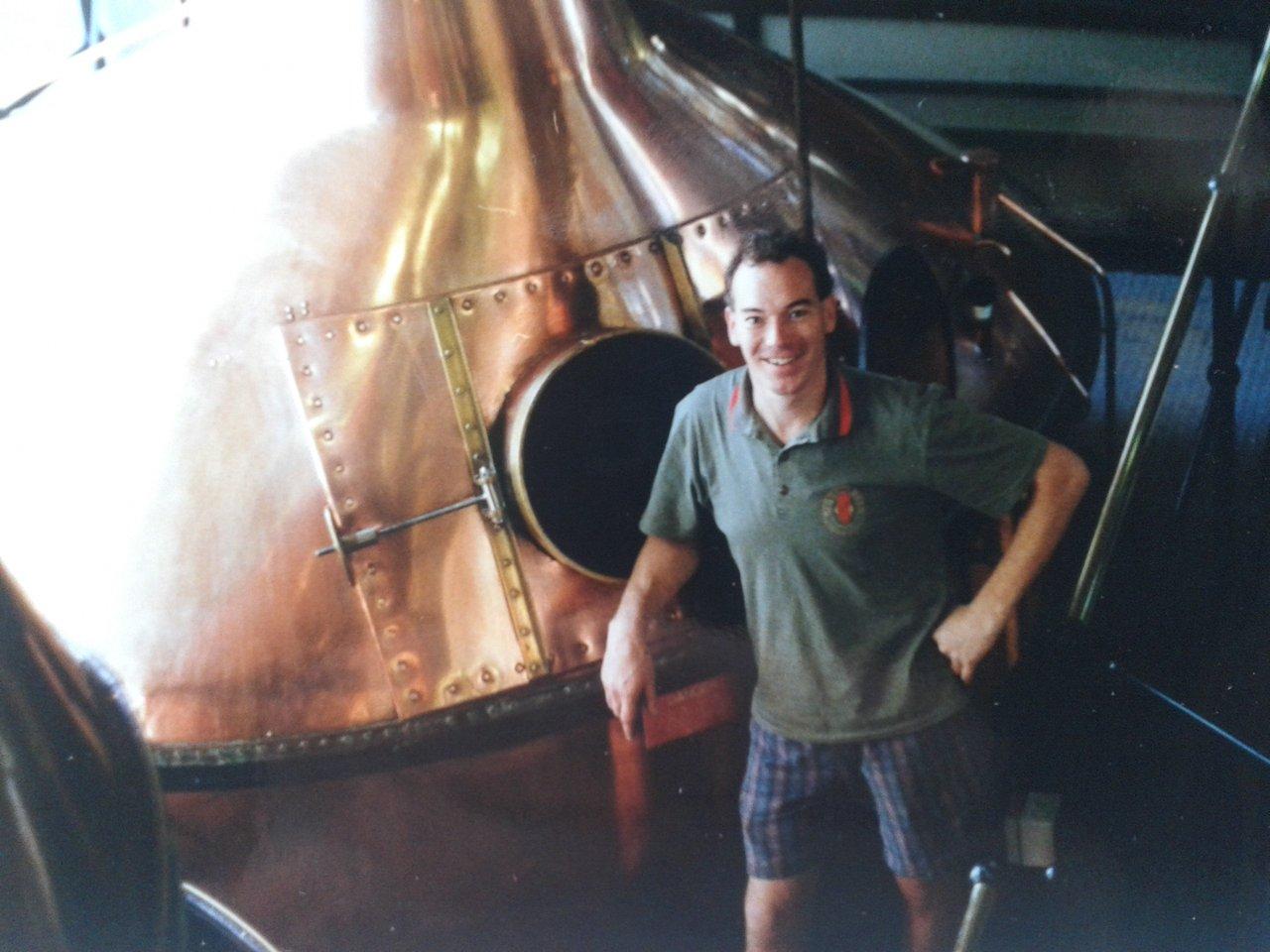 Ken Duncan at Redback Brewery