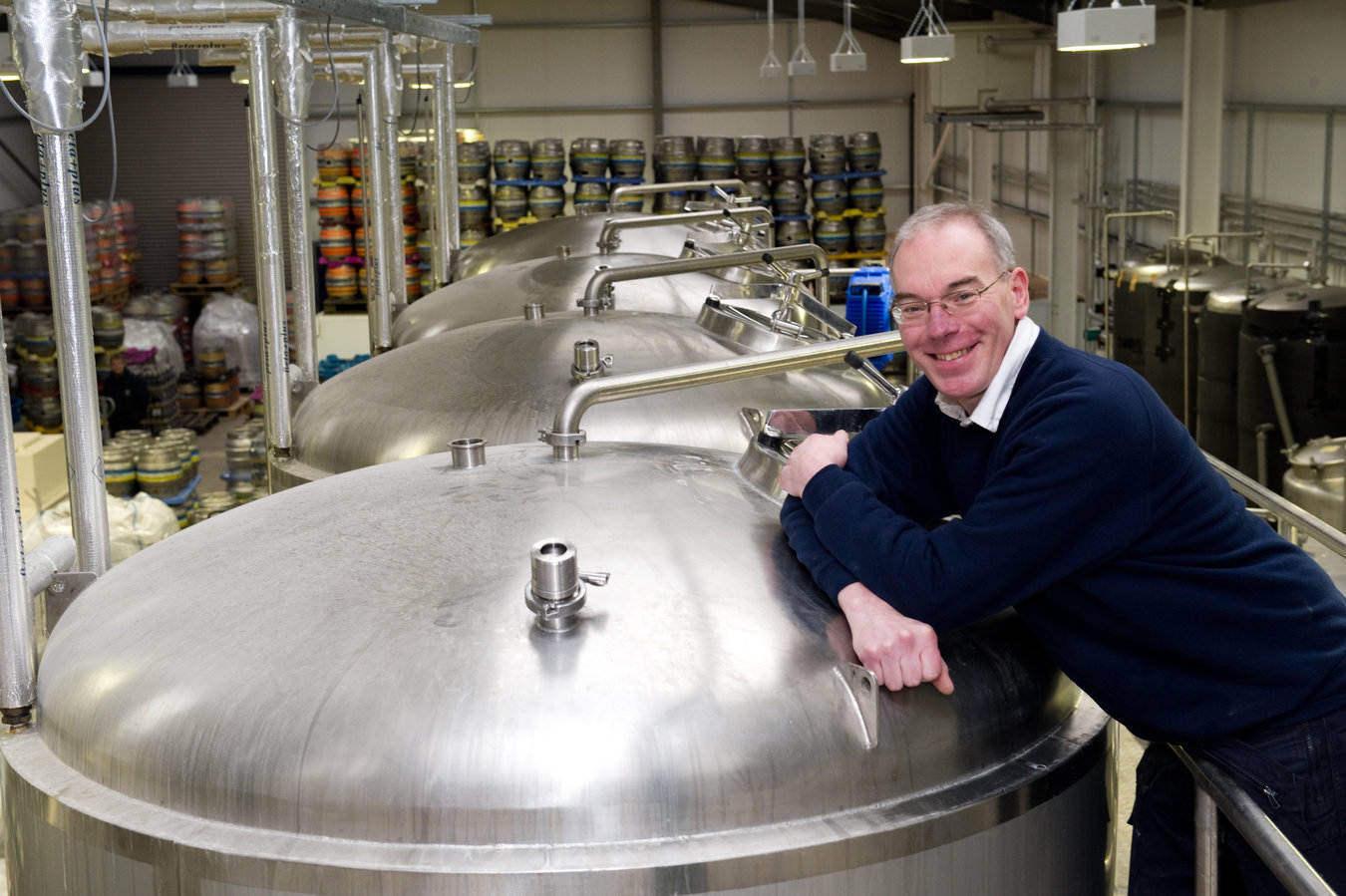 Ken Duncan of Inveralmond Brewery