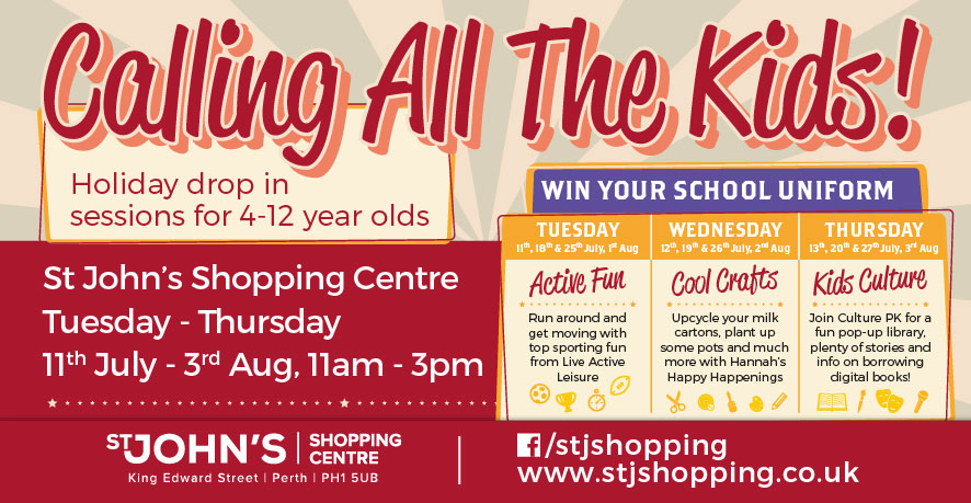 Summer Holiday Fun at St Johns Shopping Centre
