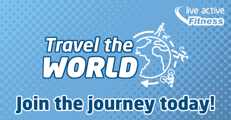 Travel the World with Live Active