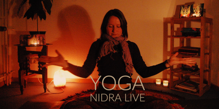 This is a free weekly 30 minute Yoga Nidra session. Yoga Nidra means 'Yogic Sleep' in this session you do no movement, you just find a quiet place to lie down and listen to Sophie who will guide you into relaxation
