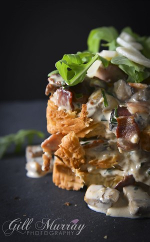 Creamy Mushroom Brioche