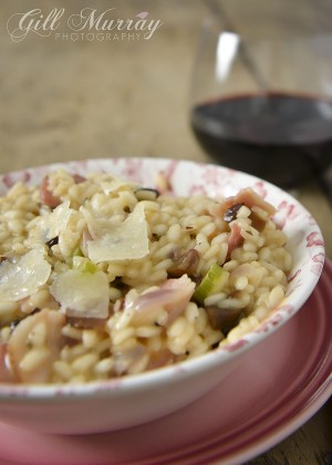Chestnut & Smoked Bacon Risotto