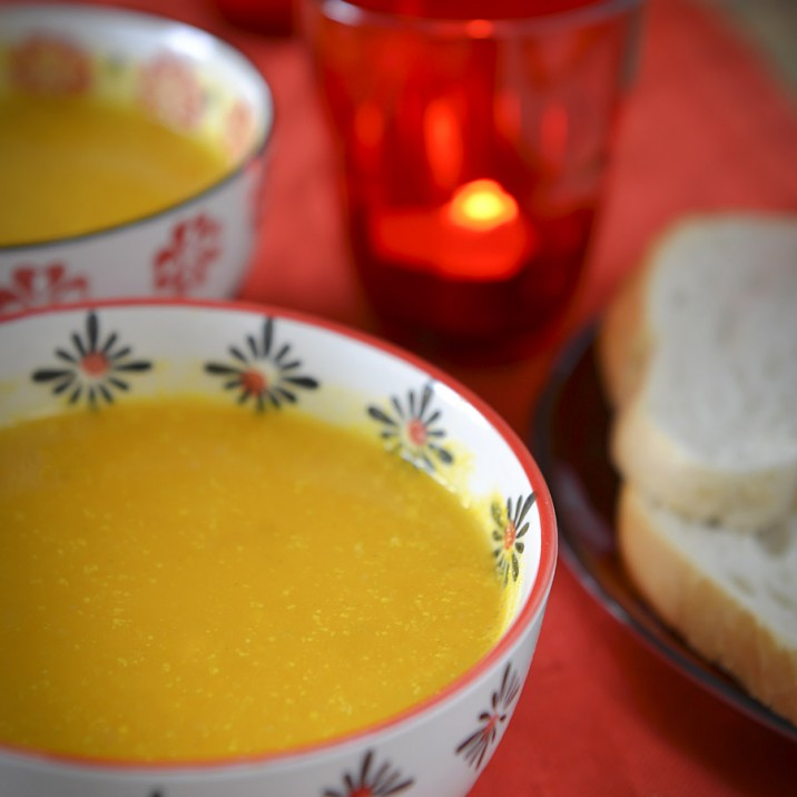 Butternut Squash Soup Recipe portrait