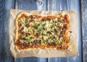 Address Tae The Haggis. On A Pizza!