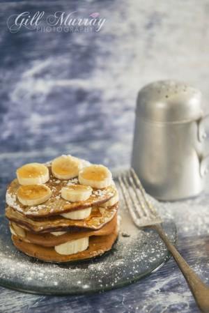 Peanut Buttermilk Pancakes