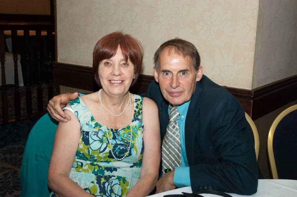 Mum and John