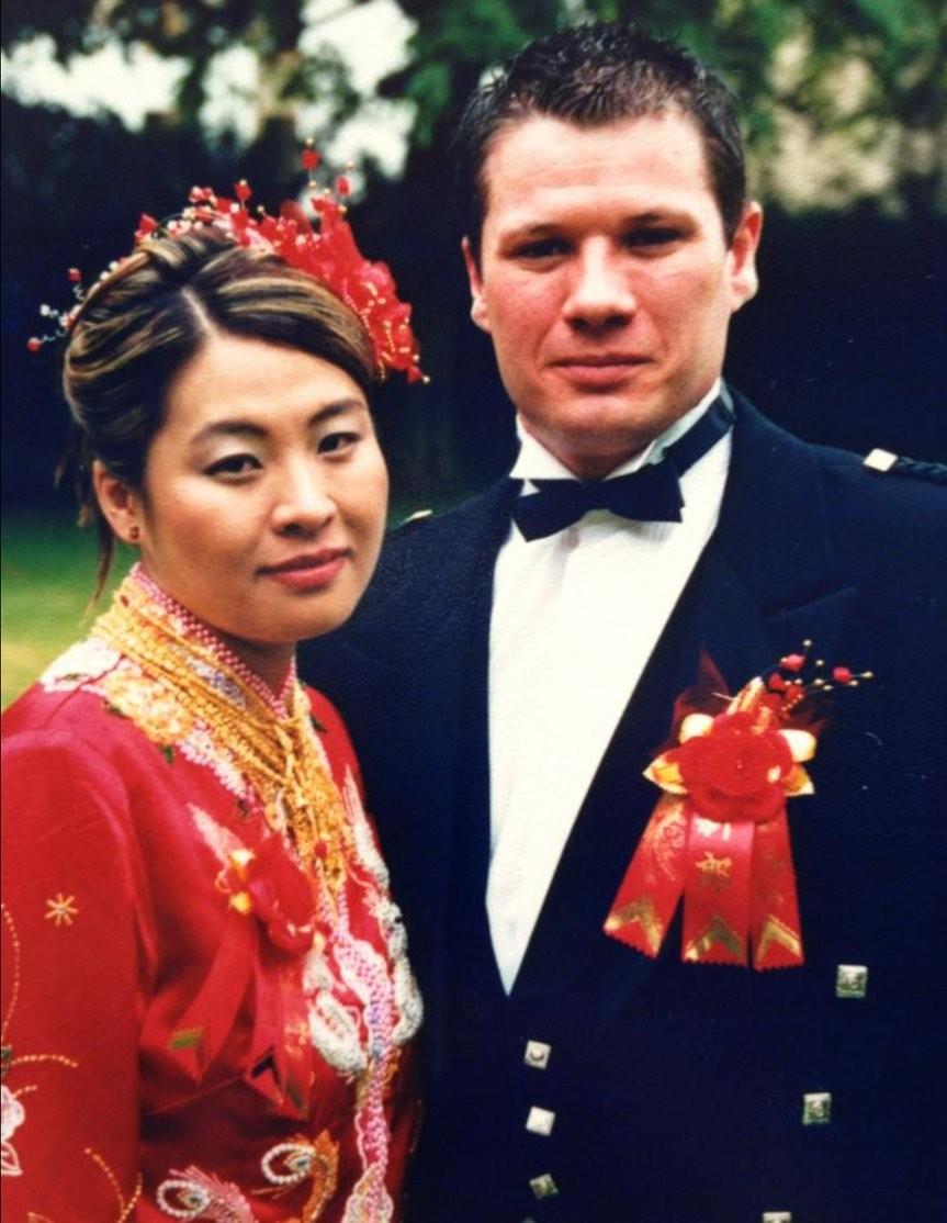 Linda and Darren Married