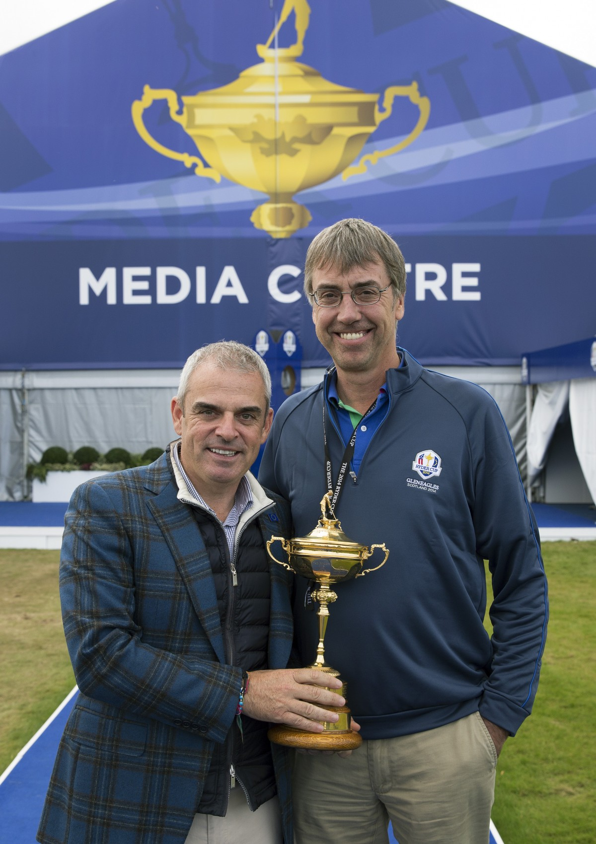 Gordon and Paul McGinley