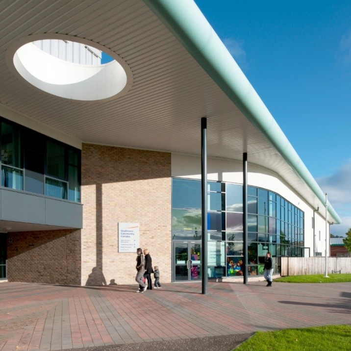 The fantastic sports and leisure facilities at Strathearn Community Campus provide many new sporting opportunities for both school children attending the campus and the wider community of the Strathearn area.