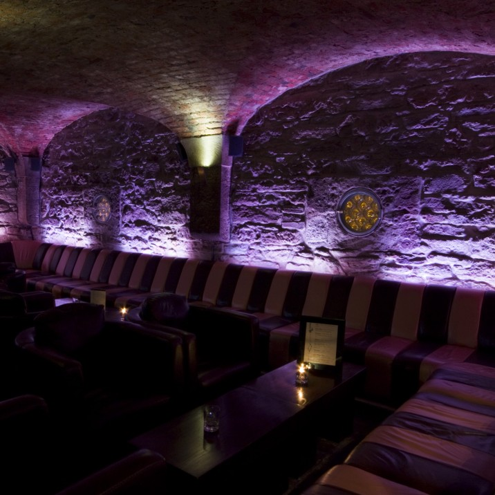 Conceived from glass, water, stone and light, this is an underground jewel in Perth's nightlife crown.