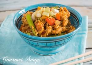 Asian Chicken & Veggie Fried Rice