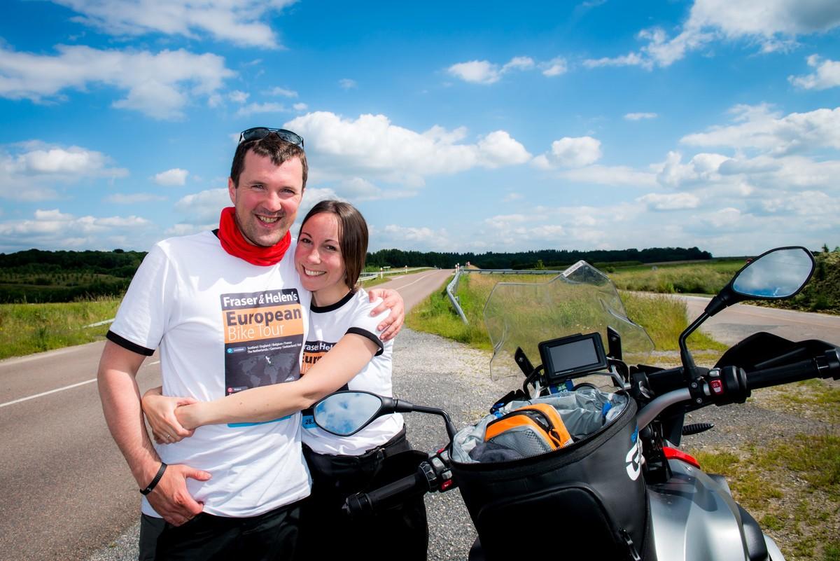 Fraser and Helen Bike