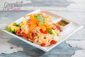 Thai Prawn and Rice Noodle Salad