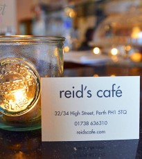 Pop down to Reid's Cafe & Winebar for the best of Scottish food & drink.