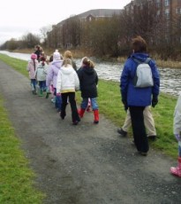 The wonderful Stride for Life walks can be found weekly throughout Perthshire and this Friday walk is a great way to explore a bit of Errol with other people in the area.