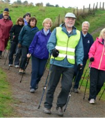 The wonderful Stride for Life walks can be found weekly throughout Perthshire and this Friday walk is a great way to explore a bit of Stanley with other people in the area.