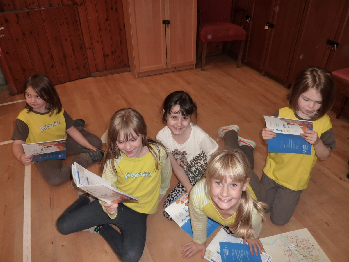 Brownies Map Reading