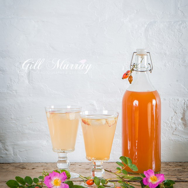 Enjoy the taste of delicious Rosehip Cordial
