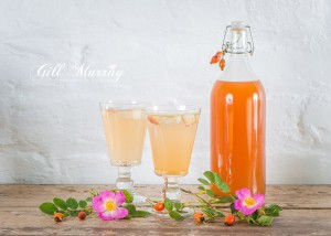 Rosehip and Apple Cordial