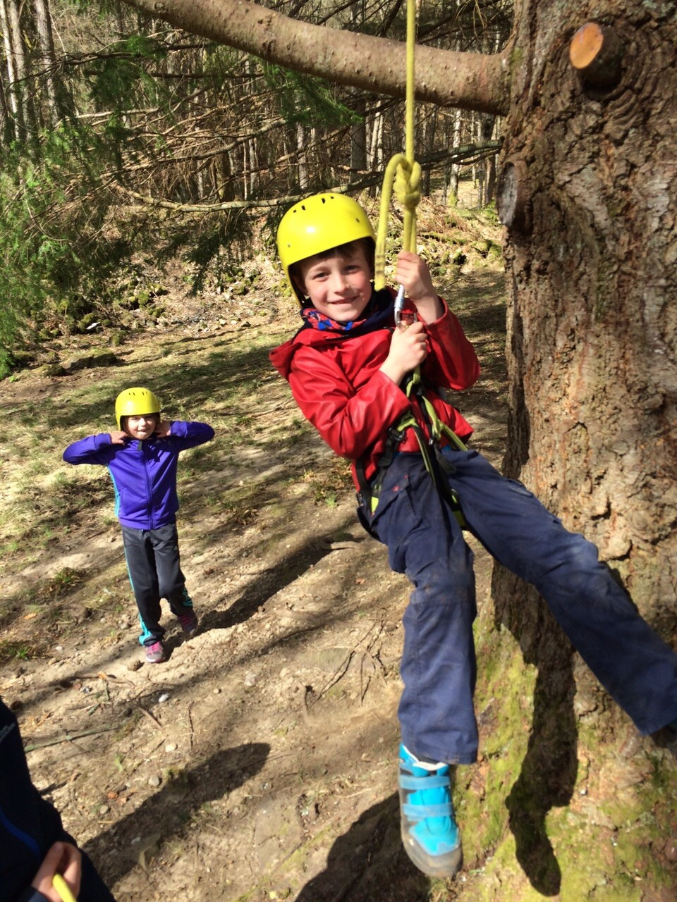 NAE LIMITS Abseiling