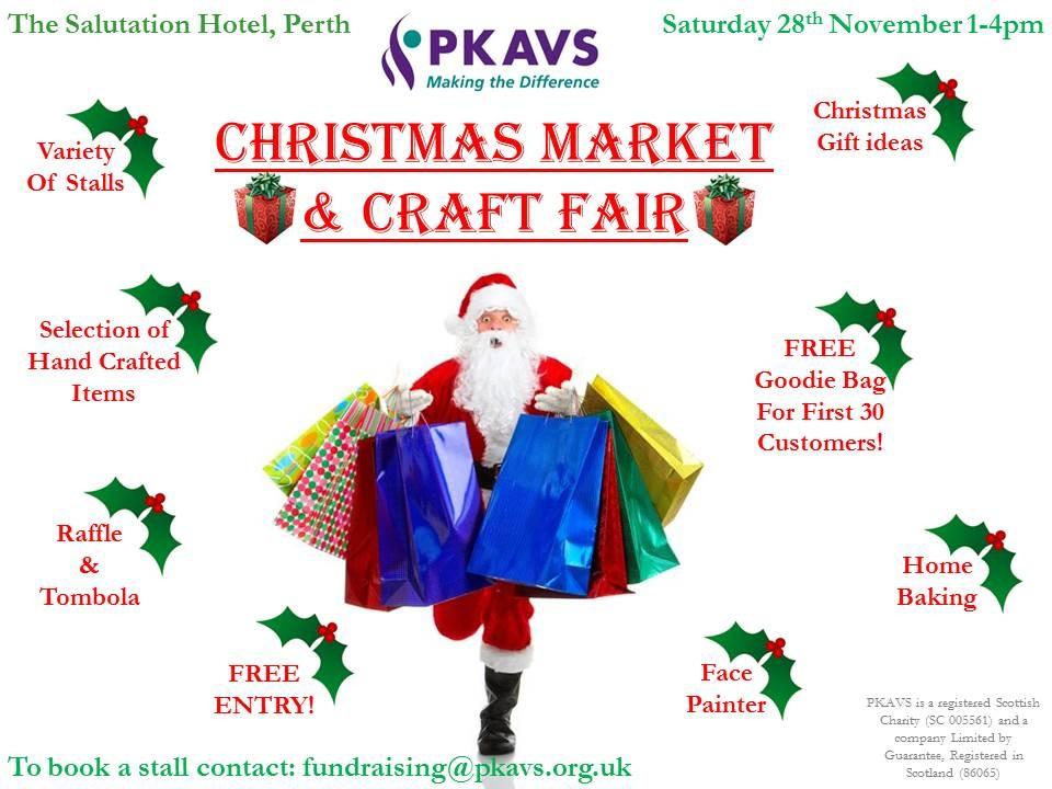 Pkavs Christmas Craft Fair Salutation Hotel