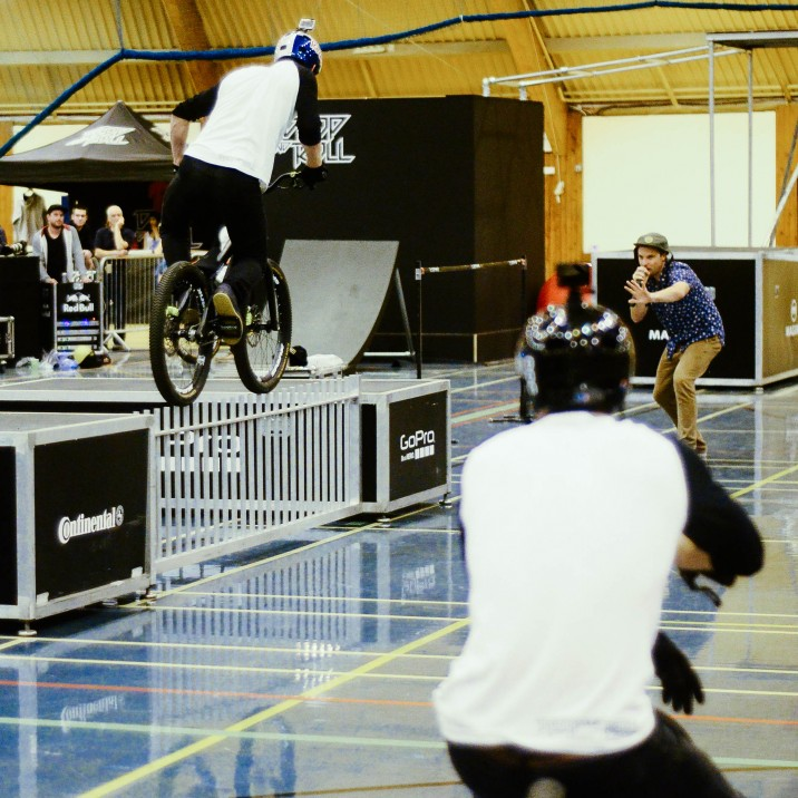 Cain Martin: Danny MacAskill at The Live Active Leisure 50th Birthday Event.