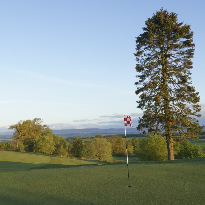 The beautiful greens at Murrayshall are just a few miles from Perth city centre!