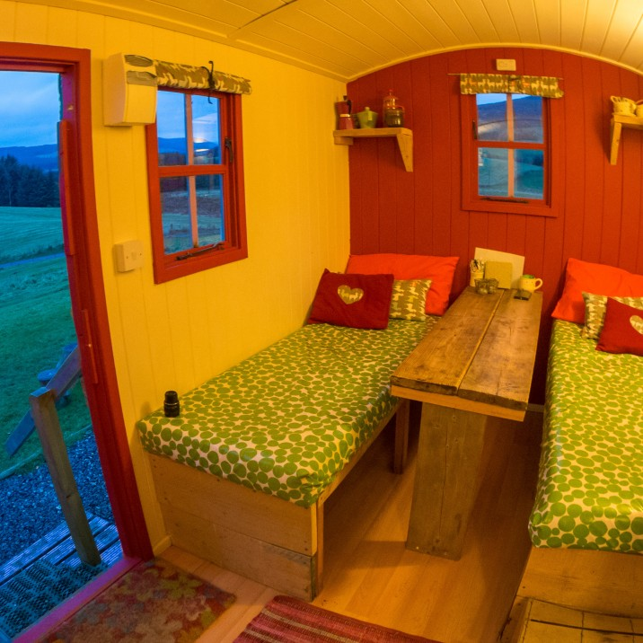 Ecocamp glenshee, where you can come and relax, safe in the knowledge that your holiday is not ruining the environment.