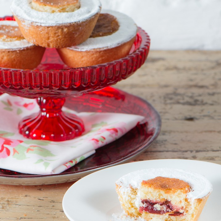 A bakewell tart is just the thing for a fancy afternoon tea.