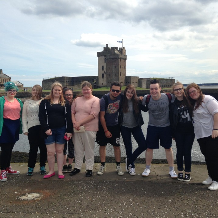 Young Adult Carer day trip to Broughty Ferry.