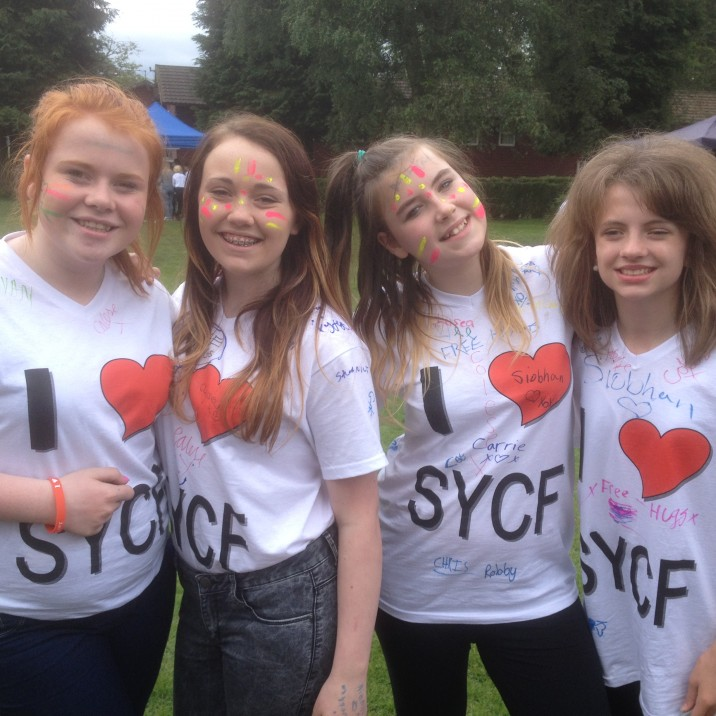 PKAVS Young Carers enjoying Scottish Young Carers Festival