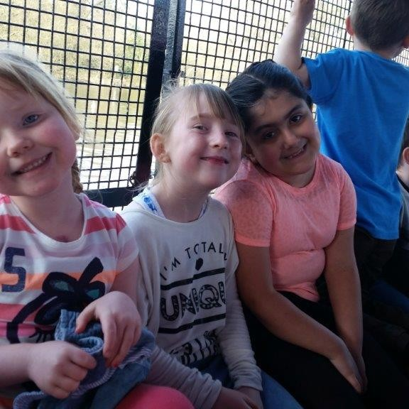 PKAVS Young Carers enjoying a day trip.