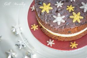 Vivacious Christmas Cake