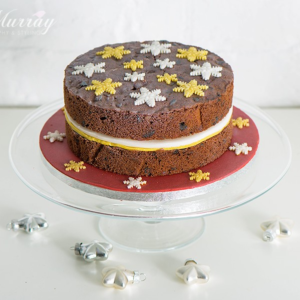 A simple Christmas Cake recipe that can be made in advance of the big day!