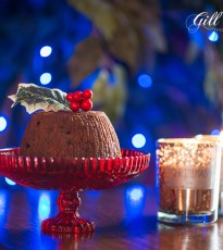 Festive Christmas Pudding