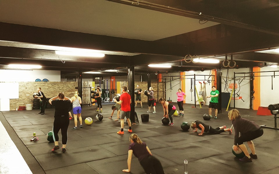Wellbeing Claymore Crossfit class pic
