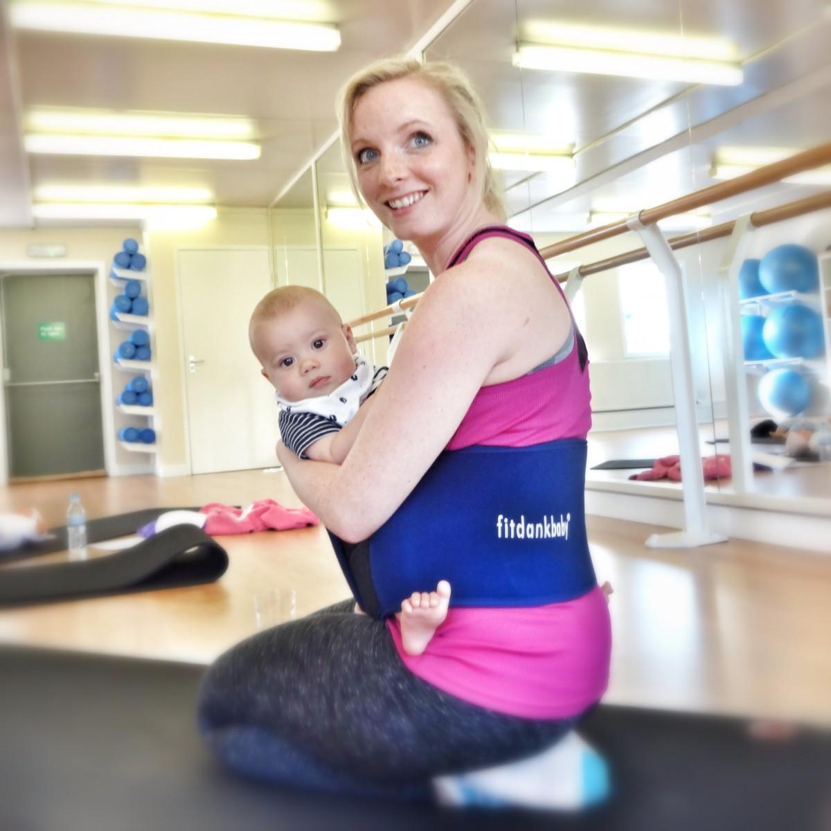 Wellbeing Balans Fitdankbaby belt