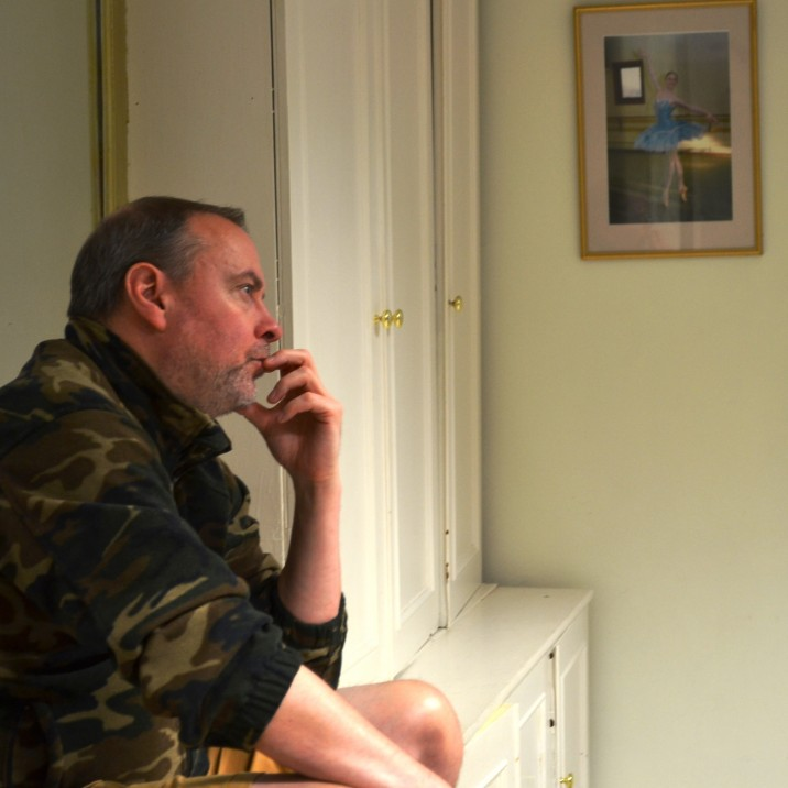 Barry Hunter starts thinking about his Dame, Betty Blumenthal, on the first day of rehearsals.