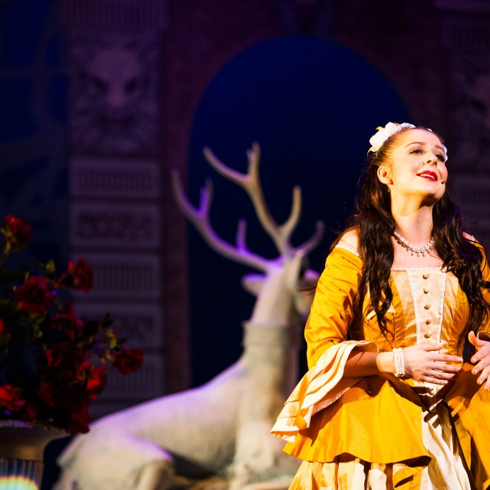 AmyBeth Littlejohn as Belle captured the heart of everyone.