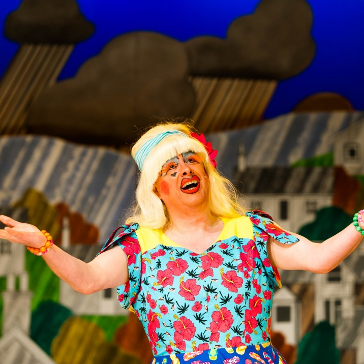 Barry Hunter as Betty Blumenthal - AKA Sweaty Betty!