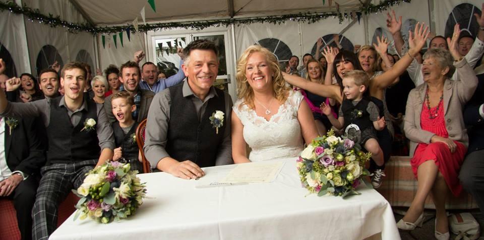 John Mason-Strang Kate Wedding