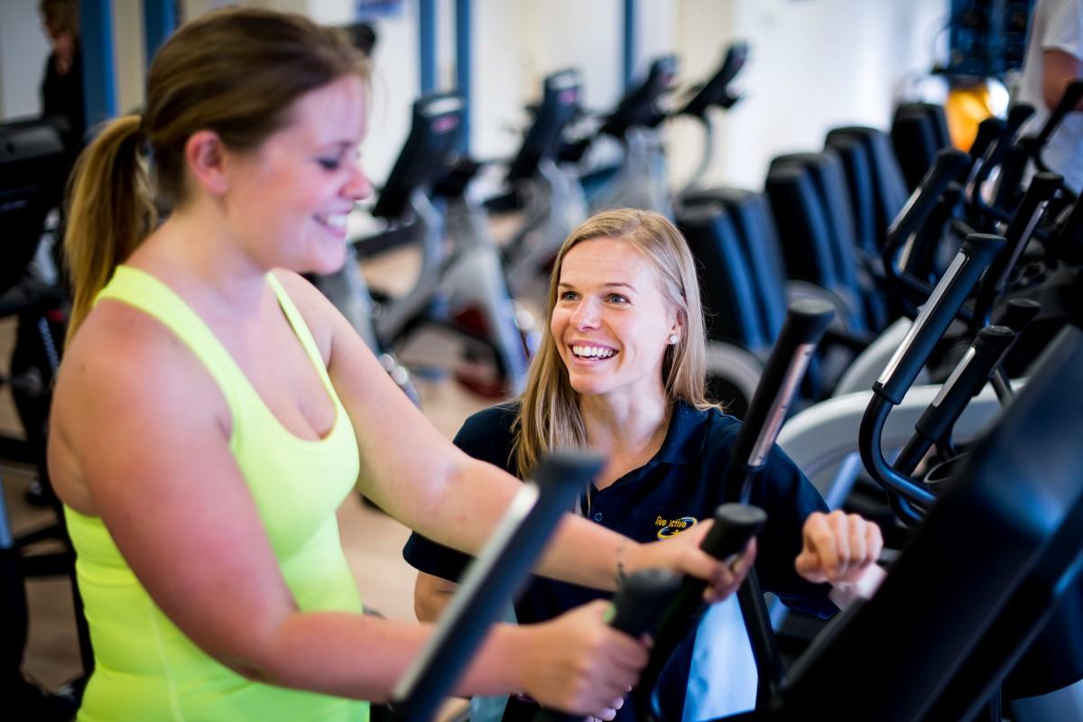 Wellbeing Live Active crosstrainer