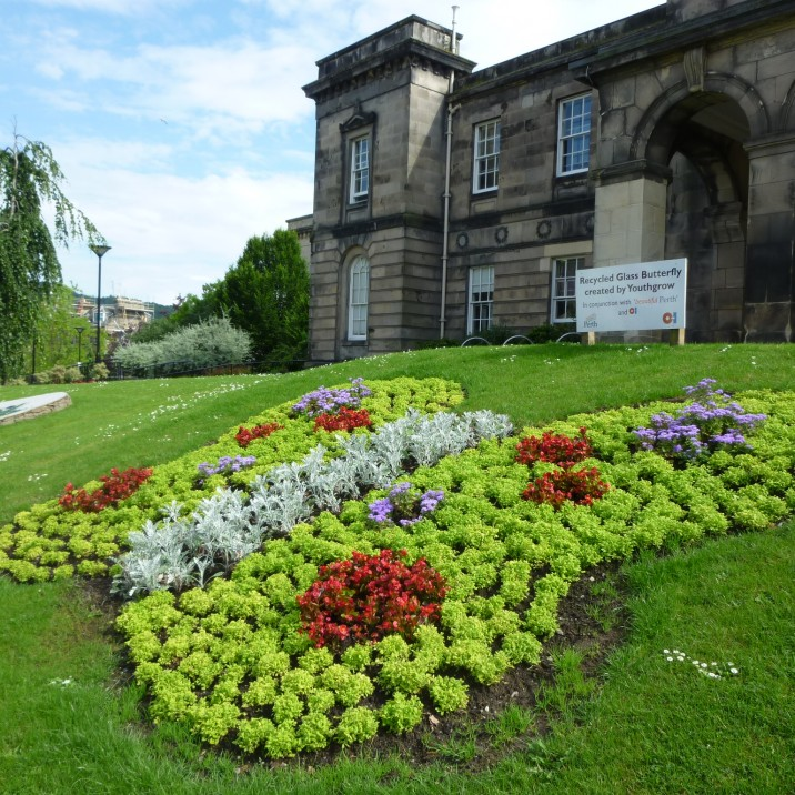 AK Bell is the largest of 13 libraries in Perth & Kinross