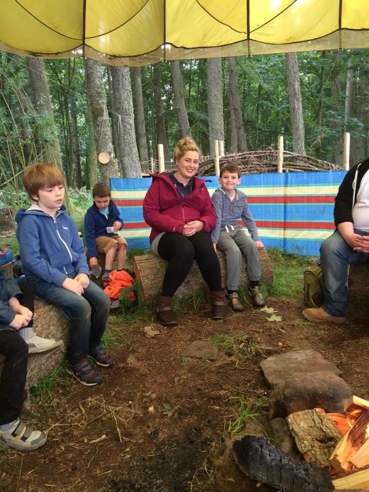 Wellbeing PAS volunteering campfire