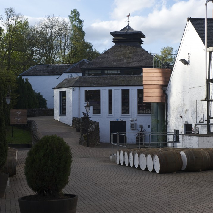 Outside distillery