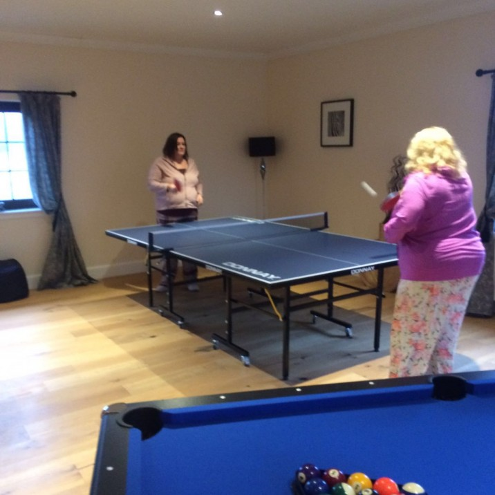 A games room with plenty to do is guaranteed to bring hours of fun.