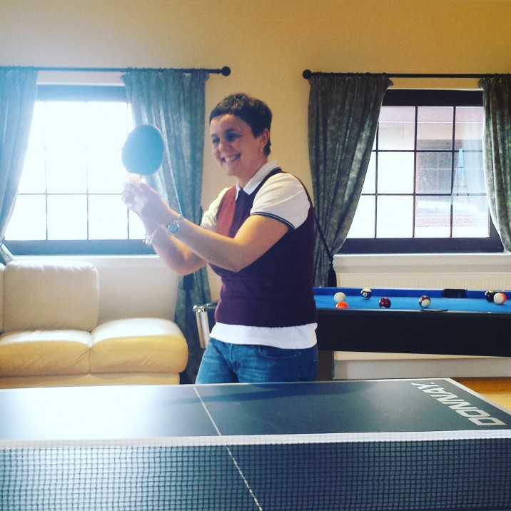 Get ready for the serve of your life! Table Tennis at Cauldcotts self-catering in Perthshire.