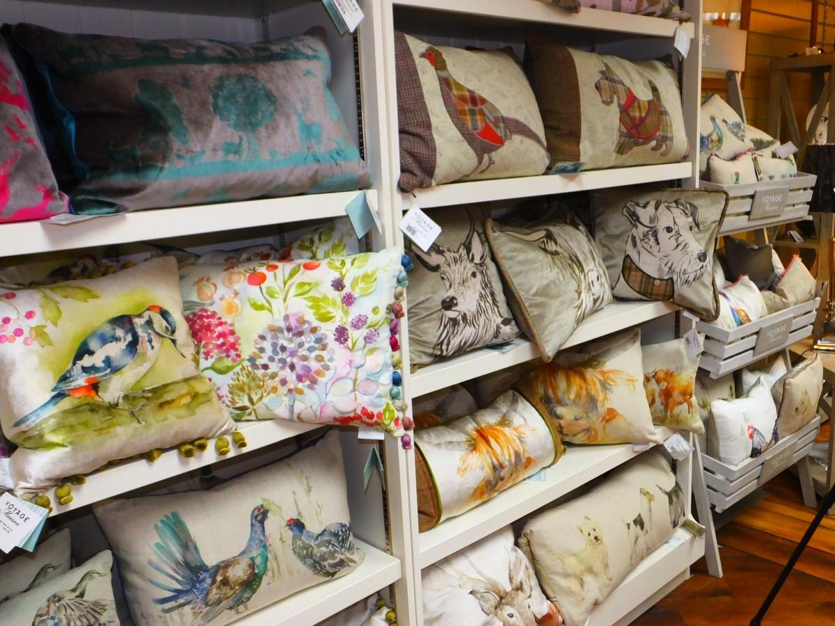 Taste Perthshire interiors cushions